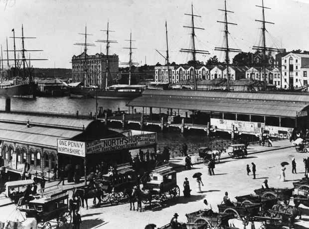Circular Quay early 1880s