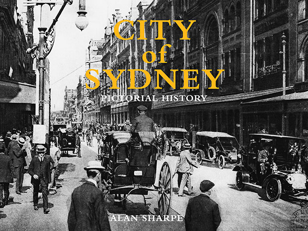 City of Sydney pictorial history book cover