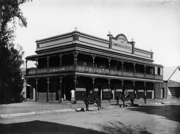 The Commercial Hotel (now Berry Hotel) 1888